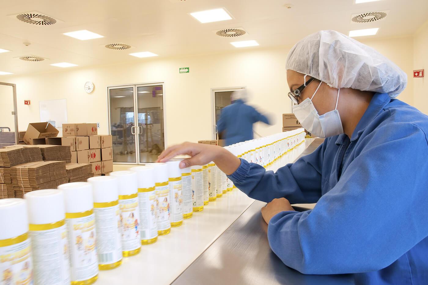 Fabricacion de medicamentos